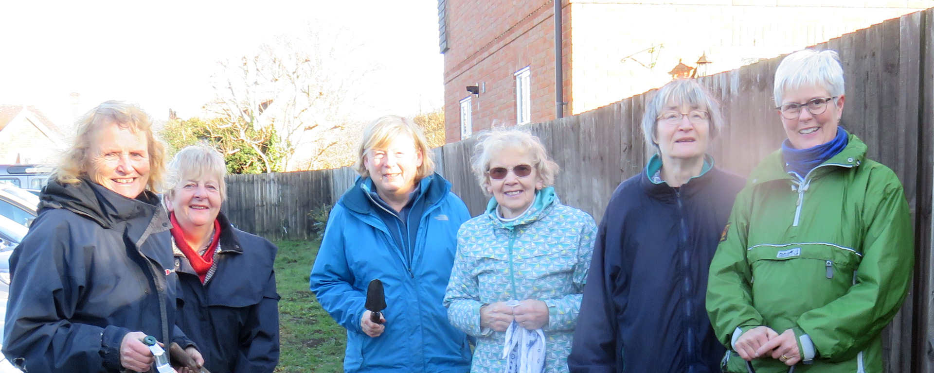100th Birthday Bulb Planting Team