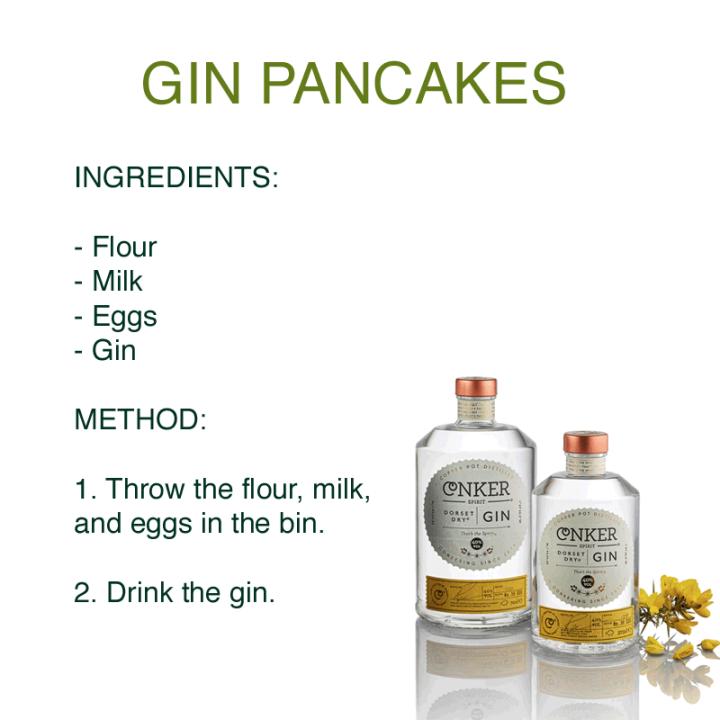 Gin Pancakes Recipe