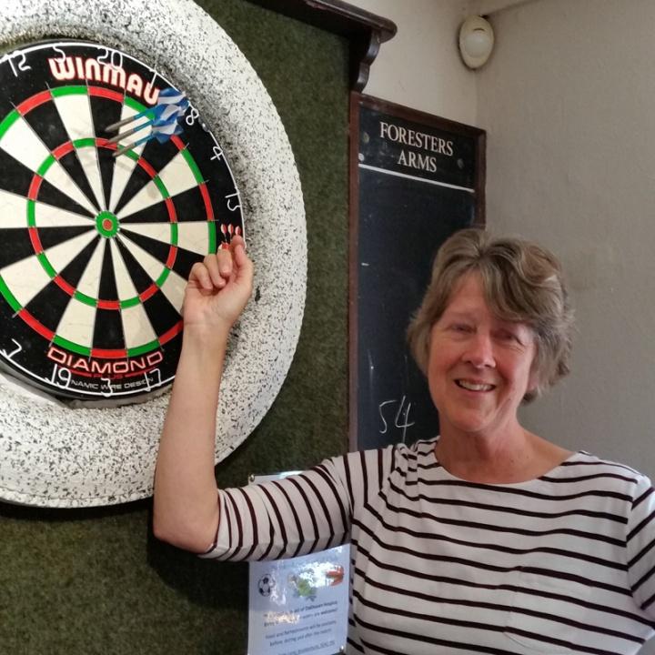 Janette's darts against Waterside