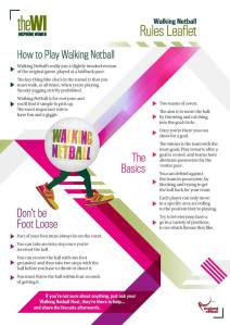 How to play walking netball